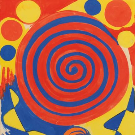 Alexander Calder - Spiral with Pumpkin