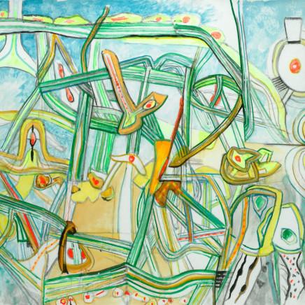 Roberto Matta, Morphologie de l'ame, 1996