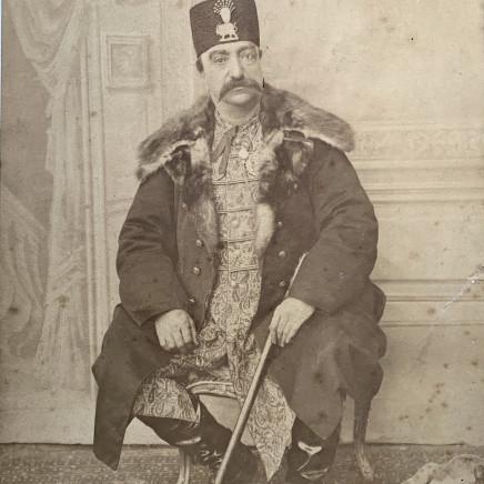 Abdallah Mirza Qajar - Naser al-Din Shah Qajar, Late 19th Century