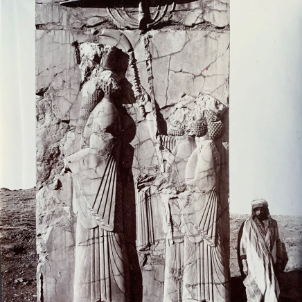 Ernst Herzfeld - Palace of Darius I, Central Facade of Southern Stairway, Persepolis, 1933