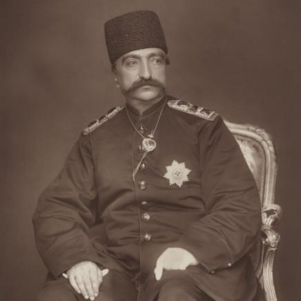 Herbert Rose Barraud - Naser al-Din Shah Qajar, 1889