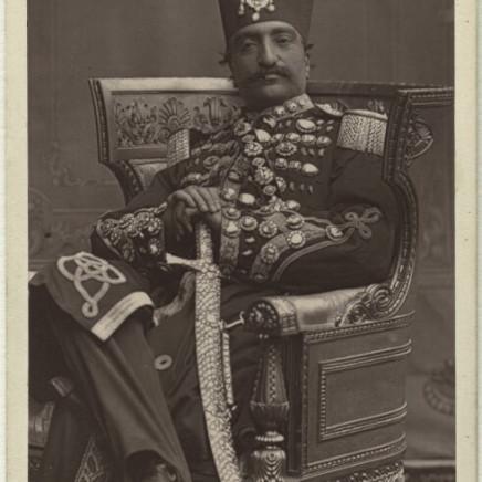 W.D. Downey - Naser al-Din Shah Qajar, 1870s