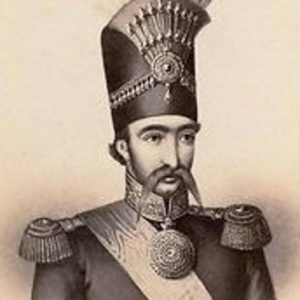 Charlet & Jacotin - Naser al-Din Shah Qajar, 1860s