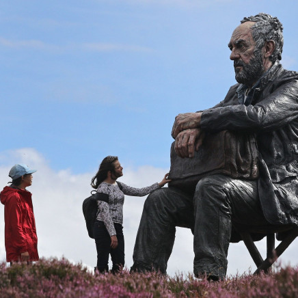 BBC News, Seated Figure on North York Moors