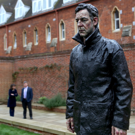 Man With Potential Selves installed at Radley College, Oxfordshire., Sean Henry talks to Tom Ryder about his work and the...