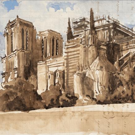 Charles-Élie Delprat, Notre-Dame III, 2020