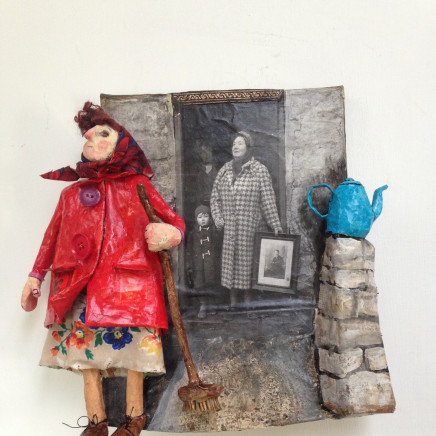 Luned Rhys Parri - Cot Goch a Thepot Glas / Red Coat and Blue Teapot