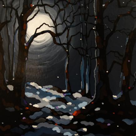 Stephen John Owen - Moonlit Woods