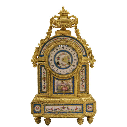 Japy Frères - Mantel clock, Late 19th century