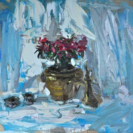 Richard Colson - Still Life with Red Azalea