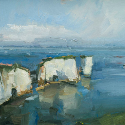 David Atkins - Morning Light, Old Harry Rocks, 2017