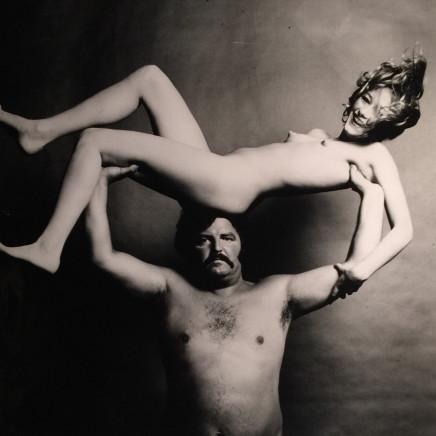 Guy Bourdin - Nude & Strongman in Joy, before 1972