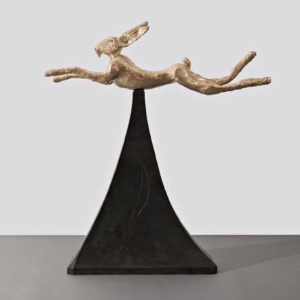 Barry Flanagan - Moon gold Hare, 2008