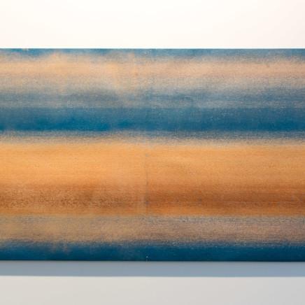Dalila Gonçalves - Untitled (Lixa Grande Azul), 2017