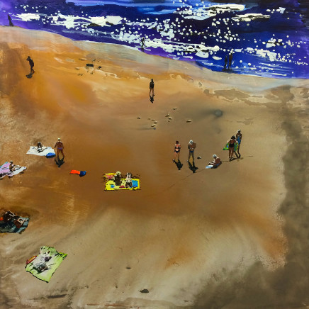 Erika Adamsson - Sand from Sahara, 2017
