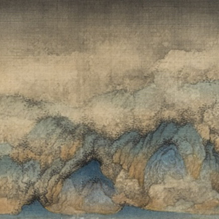 Wu Qiang 吳強 - The smoke from scattered woods 疏林煙起, 2013