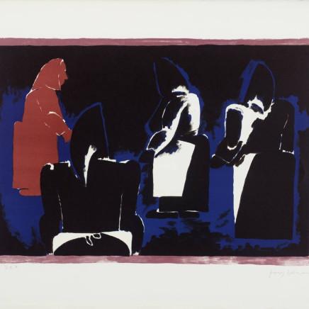 Josef Herman OBE - Four Fisherwomen, 1974