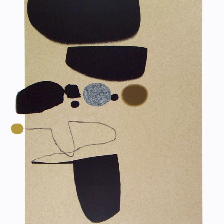 Victor Pasmore CH CBE - Points of Contact No. 25, 1974