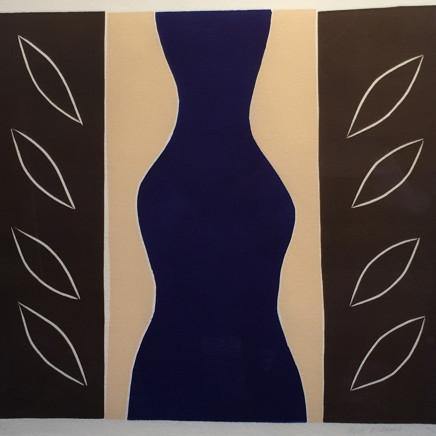 Breon O'Casey - Blue Figure, 2009