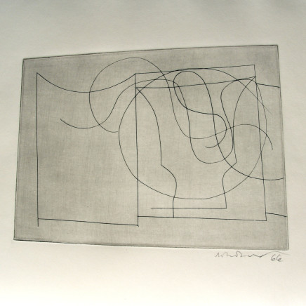 Ben Nicholson, O.M. - Flowing Forms, 1967