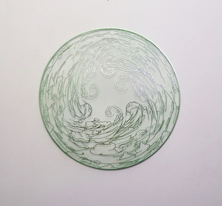 Neil Dawson, Green Orb, 2019