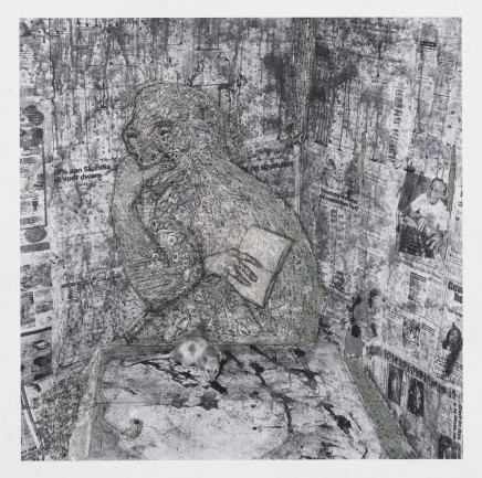Hans Lemmen, STRANGE CREATURE, 2016