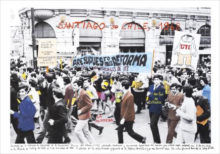 Marcelo Brodsky, SANTIAGO DE CHILE 1968, 2017