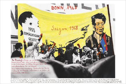 Marcelo Brodsky, BONN/SAIGON 1968, 2017