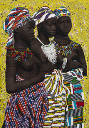 Marion Boehm, THREE SISTERS, 2019