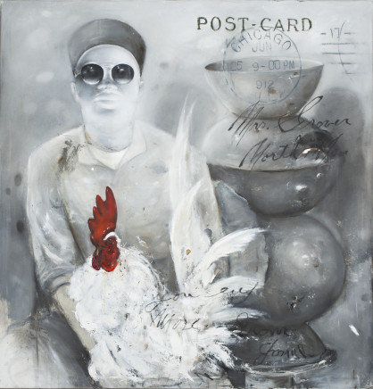 Ransome Stanley, RED ROOSTER, 2019