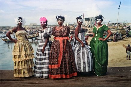 Godfried Donkor, Jamestown Masquerade XII, 2006