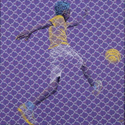 Evans Mbugua, EYE ON THE BALL, 2018