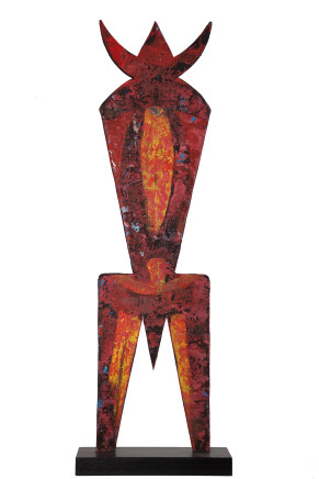 EL Loko, FIGUR MIT DREIECK, 1992