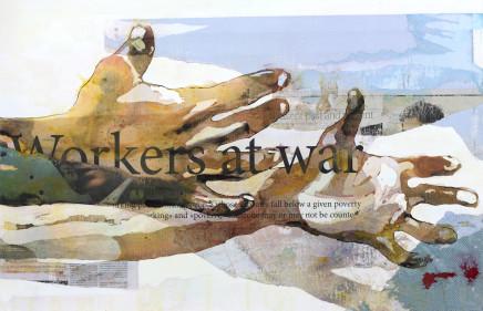 Bruce Clarke, WORKER AT WAR, 2014