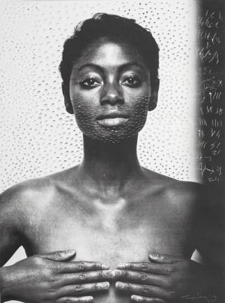 Toyin Loye, BLACK MADONNA, 2012