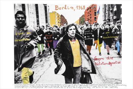 Marcelo Brodsky, BERLIN 1968, 2017