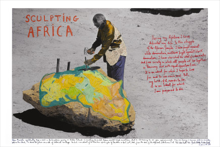 Marcelo Brodsky, SCULPTING AFRICA, 2019