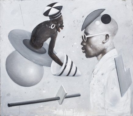 Ransome Stanley, DANCING WITH OSKAR I, 2018