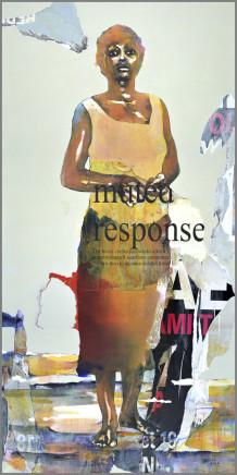 Bruce Clarke, MUTED RESPONSE, 2013