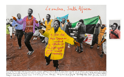 Gideon Mendel, LEANDRA, SOUTH AFRICA, 1986, 2018