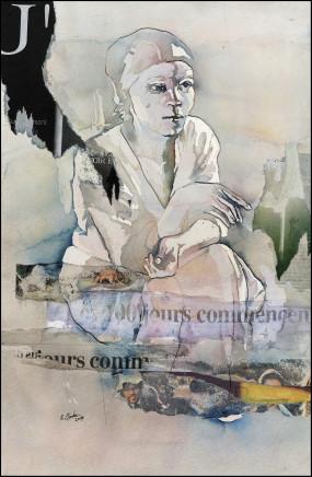 Bruce Clarke, 100 JOURS COMMENCENT…, 2014