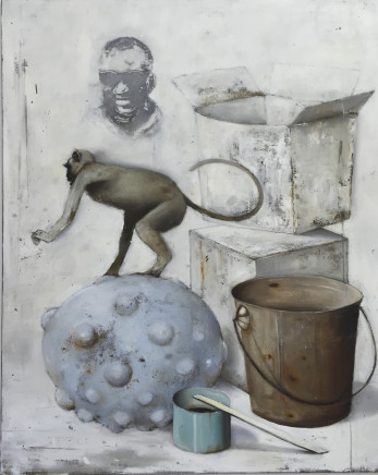 Ransome Stanley, WHITEBOARD ROOM III, 2016