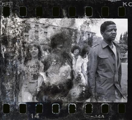 Gideon Mendel, WINNIE MANDELA JOINS A STUDENT PROTEST..., 1986