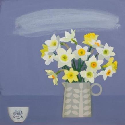Emma Dunbar, Daffodils and Ali's Pot