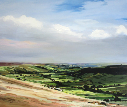 Colin Cook, Morning Light over Little Fryup Dale