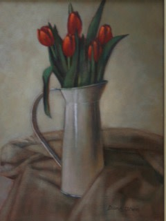 Diane Urwin, Red Tulips