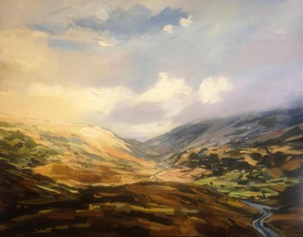 Colin Cook, Towards Roman Fort at Hardknott