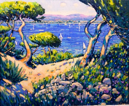 Terence Clarke, Twisted Pines Near Cassis