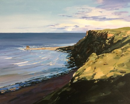 Colin Cook, The Cliffs Above Saltwick Bay
