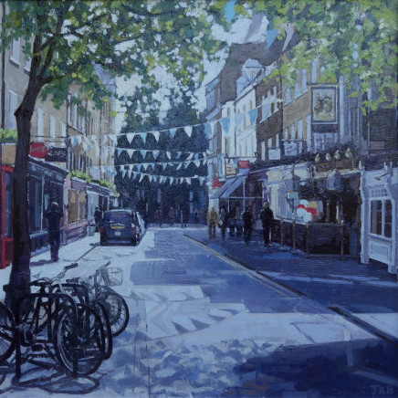 Jennifer Greenland, Monmouth Street in the sun